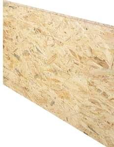 Dalle de plancher OSB 3 - 3 plis, en épicéa naturel, 250x67.5 cm, 18 mm d'épaisseur - Chartres (28)