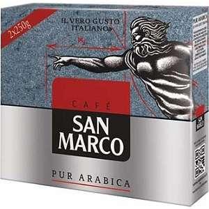 Café San Marco Moulu - Classic, Decafeine ou Grains, 500g