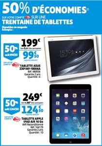 50% de remise fidélité sur une sélection de tablette tactile - Epagny (74)