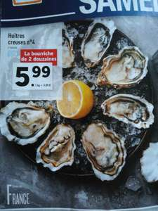 Bourriche de 24 huîtres n°4 - origine France