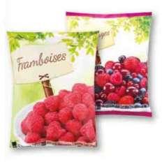 Paquet de Fruits rouges surgelés - Framboise,fruits rouges ou fraises, 500/750g