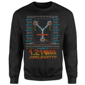 Sweat De Noël Retour Vers Le Futur  + 1 T-Shirt au choix parmi une sélection