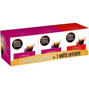 Lot de 3 bôites Dolce Gusto Nescafé - 48 capsules -Bapeaume-lès-Rouen (76)