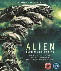 Coffret intégrale Blu-ray : Alien (6 films)