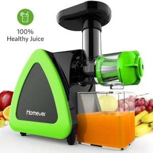 Extracteur de Jus de Fruits et Légumes Homever (vendeur tiers)