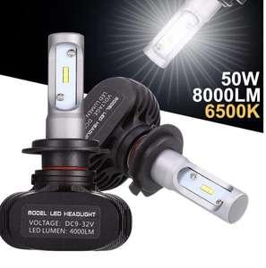 Lot de 2 Ampoules LED H7 6500K (Vendeur tiers)
