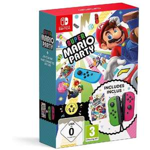 Jeu Super Mario Party + 1 paire de Joy-Con Néon sur Nintendo Switch