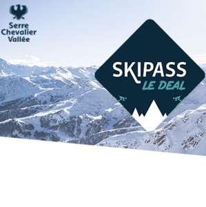 De 14 à 57% de réduction sur le Forfait ski journée - Serre Chevalier (05)