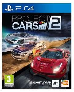 Project Cars 2 sur PS4 (via 25€ sur la carte)