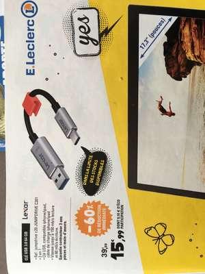 Clé USB 3.0 / USB type-C Lexar JumpDrive C201 64 Go - Bourgogne-Franche-Comté / Grand Est