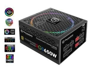 Alimlentation PC modulaire - Thermaltake Toughpower Grand 650W RGB 80+ Gold