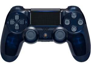 Manette Sony PS4 Dualshock - Edition limitée 500 Millions Navy Blue/Transparent (Frontaliers Allemagne)