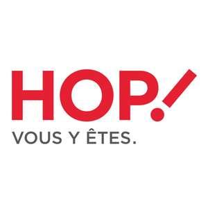 Carte Jeune ou Senior Air France Hop