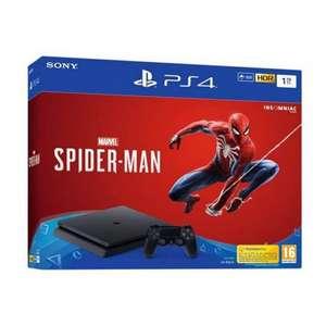 Sélection de packs console Sony PS4 Slim en promotion - Ex : PS4 Slim (1 To) + 2ème manette DualShock 4 + Marvel's Spider Man