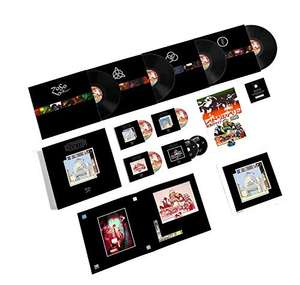 Led zeppelin the song remain the same super deluxe box vinyles + cds + DVD 14 disques