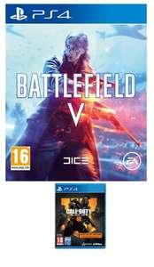 Battlefield V + Call of Duty: Black Ops III - Édition Spécialiste sur PS4