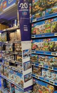 20% remboursés sur la carte sur la gamme Lego City + 15euro par tranche de 50euro- Ex: Lego Train Passengers 45euro:- (National)