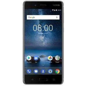 "Smartphone 5.3"" Nokia 8 (Gris) - QHD+, Snapdragon 835, RAM 4Go, 64Go"