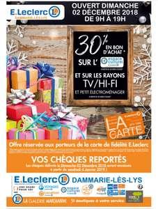 30% remboursés en Bons d'achat sur les Jeux Vidéo (Consoles, Jeux, Accessoires)  -  Dammarie les Lys (77)