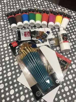 Sélection de produits de peinture acrylique Bleiswijck - Ex : Tube de vernis 80ml