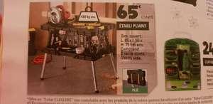 Établi pliant - 85x55x75cm