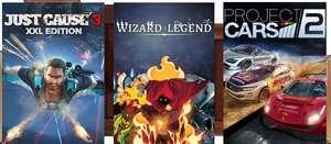 Humble Monthly Bundle : Just Cause 3 XXL Edition, Wizard of Legend & Project Cars 2 + 5 Jeux (Dématérialisés - Steam)