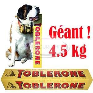 Chocolat Toblerone Géant - 4,5kg