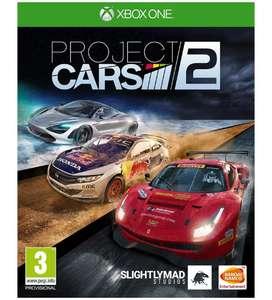 Project Cars 2 sur Xbox One (via l'application)