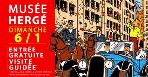 Entrée Gratuite + Visite Guidée Gratuite au Musée Hergé - Louvain-la-Neuve (Frontaliers Belgique)