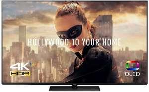 """[Carte Cumulus] TV 65"""" Panasonic TX-65FZC804 - 4K UHD, OLED, Smart TV (Frontaliers Suisse)"""