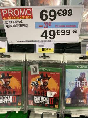 Jeux Xbox One Red Dead Redemption 2 sur Xbox One -  Coudekerque-Branche (59)