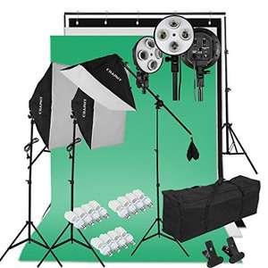 Kit d'Éclairage Studio Photo Craphy (vendeur tiers)