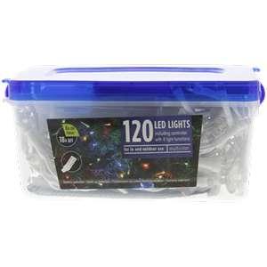 Guirlande lumineuse avec télécommande - 120 LEDs