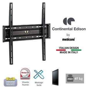 "Support Fixe Continental Edison pour TV 40-65"" - VESA 400*400"