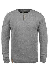 Pull en Maille homme Indicode Donte - Taille XL, Gris (Vendeur Tiers)