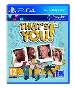 Sélection de jeux PS4 en promotion - Ex: That's You (via l'application)