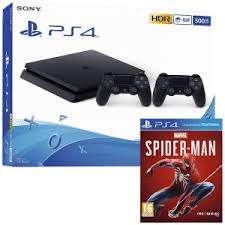 Pack Console PS4 Slim (Noir) - 1 To + Spider-Man à 69,99€ (Via Reprise de votre ancienne console PS4 - Frontaliers Allemagne)