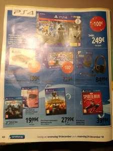 Détroit: Become Human ou God of War sur PS4 (Frontaliers Belgique)