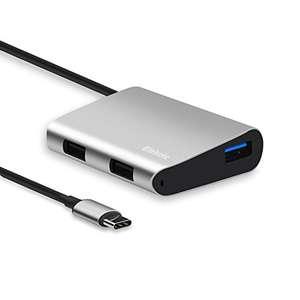 [Panier Plus] Adaptateur USB C vers USB 3.0 & USB 2.0 Elekele (vendeur tiers)