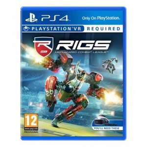 Jeu RIGS VR Mechanized Combat League sur PSVR (PS4) - Dans une sélection de magasins (Via application)