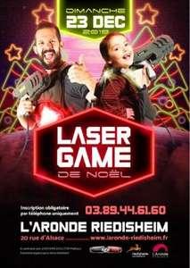 Lot de 2 places pour le Laser Game géant de Noël (68 - Riedisheim/Mulhouse)