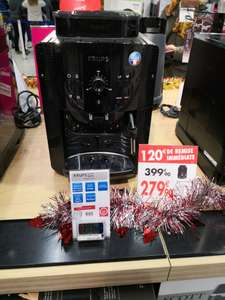 Machine à café Krups YY8125FD Arabica Noire MaxiPack - Carrefour lattes (34)