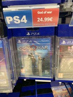 Jeu God of war PS4 à Auchan Poitiers Sud (86)