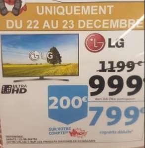 """TV 65"""" LG 65UK6750 - 4k - Auchan Maurepas (78)"""