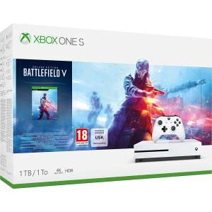 Pack Console Xbox One (S 1 To) + Manette supplémentaire + Battlefield V Deluxe Edition + Forza Horizon 4 + Gears Of War 4 (elcorteingles.es)