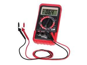 Multimètre numérique Powerfix