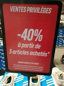 40% de réduction à partir de 3 articles achetés - Adidas Outlet Clayes sous bois (78)