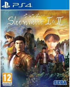 Shenmue I & II sur PS4