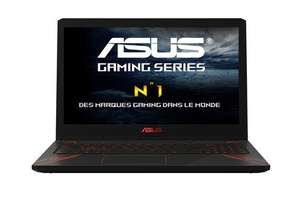 PC Portable 15.6'' full HD Asus FX570UD-DM147T - i5-8250U, GTX-1050, 6 Go de RAM, 1 To, Windows 10