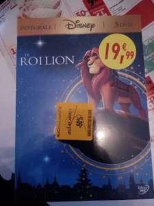 50% de réduction immédiate sur une sélection de Coffrets DVD Disney - Roncq (59)